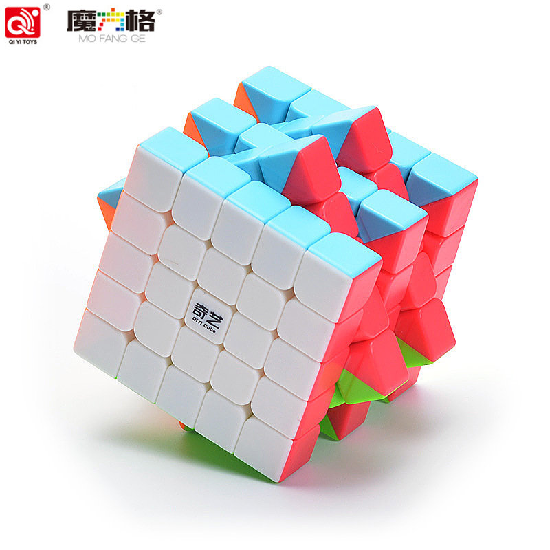 QIYI 5X5X5 CUBE Qiyi QiZheng S 5x5 Cube Toys Puzzle Cubes Educationa Toys for Children цена 2017