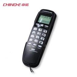 Мини телефонов настенный фиксированный телефон с повторный набор Идентификатор вызывающего абонента молниезащиты для дома стационарный т...