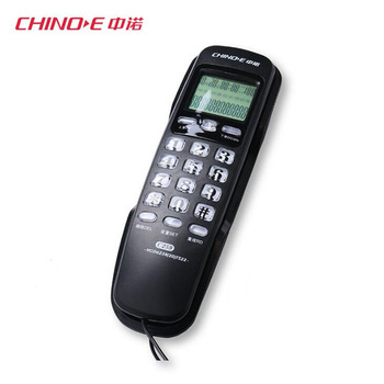 Mini Phones Wall Fixed Telephone With Redial Caller ID Lightning Protection For Home Landline Telephone House Phone Tele