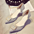 Shoes2016 verão novos sapatos da moda das mulheres com sexy fina de salto alto com pontas banquete sapatos trabalhar sapatos 6 cm XX-09