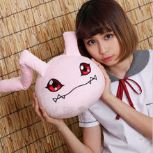 Cute Anime Digital Monster digimon soft  Koromon 23cm plush toy Plush doll Pillow Cushion Gift Ear Length 42cm