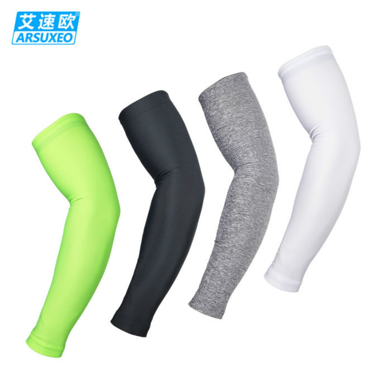 Men Women Cycling Arm Warmers Riding Mountain Bike MTB Sunscreen Sleeves Running Ridding Fishing Outdoor Golf Sport Arm Covers