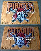 Pittsburgh Pirates Flag 3ft X 5ft Polyester MLB Pittsburgh Pirates Banner Flying Size No 4 144