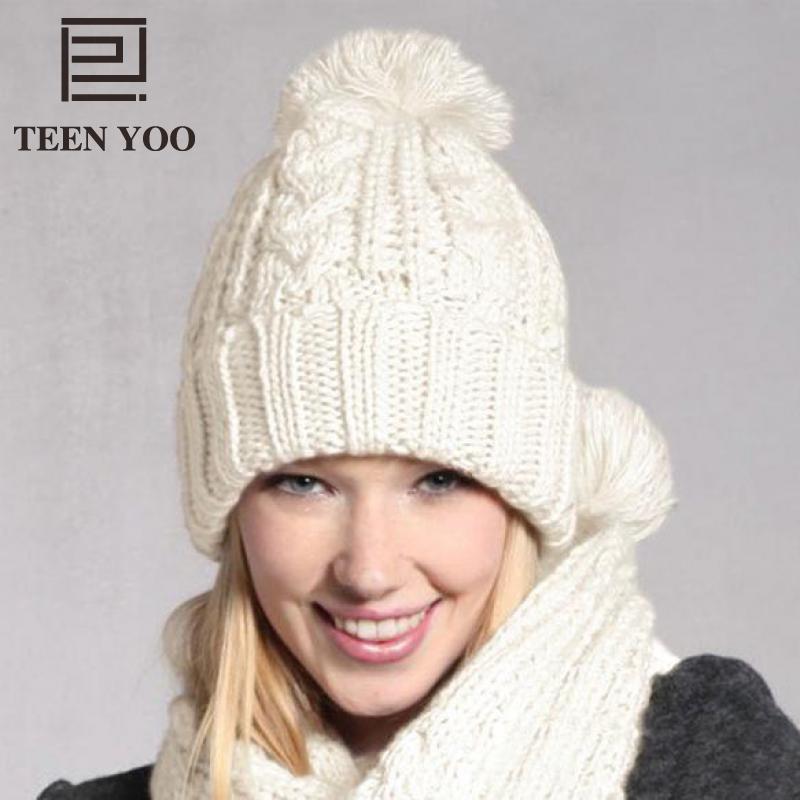 6b2ff70245ee Дамские шапочки и шарфа Для женщин Однотонная ...