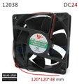 Argon Arc Welding Machine Cooling Fan Dc24v 120*120*38mm All Copper Motor