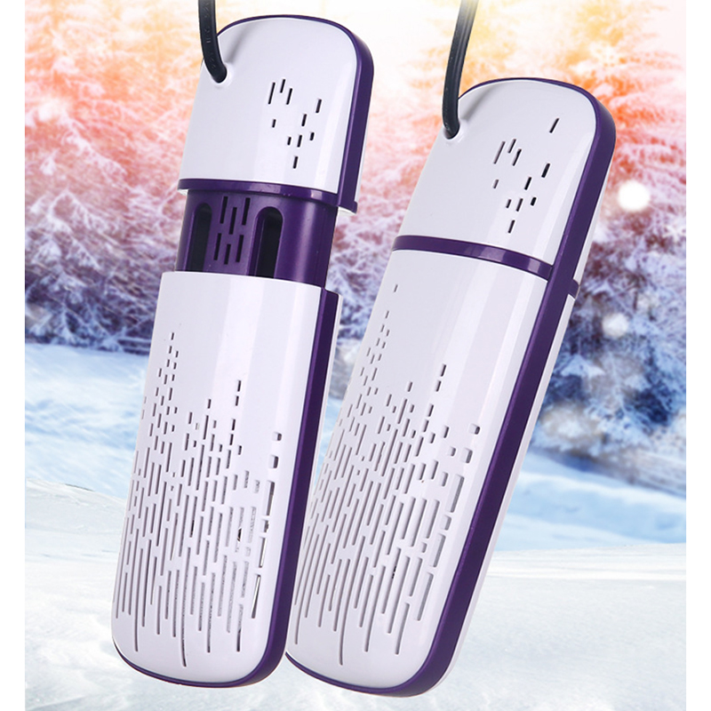 Shoe Dryer Deodorant Sterilization Telescopic Dry Shoes Winter Multi-function Household Warm Shoes Heater Telescopic 220V