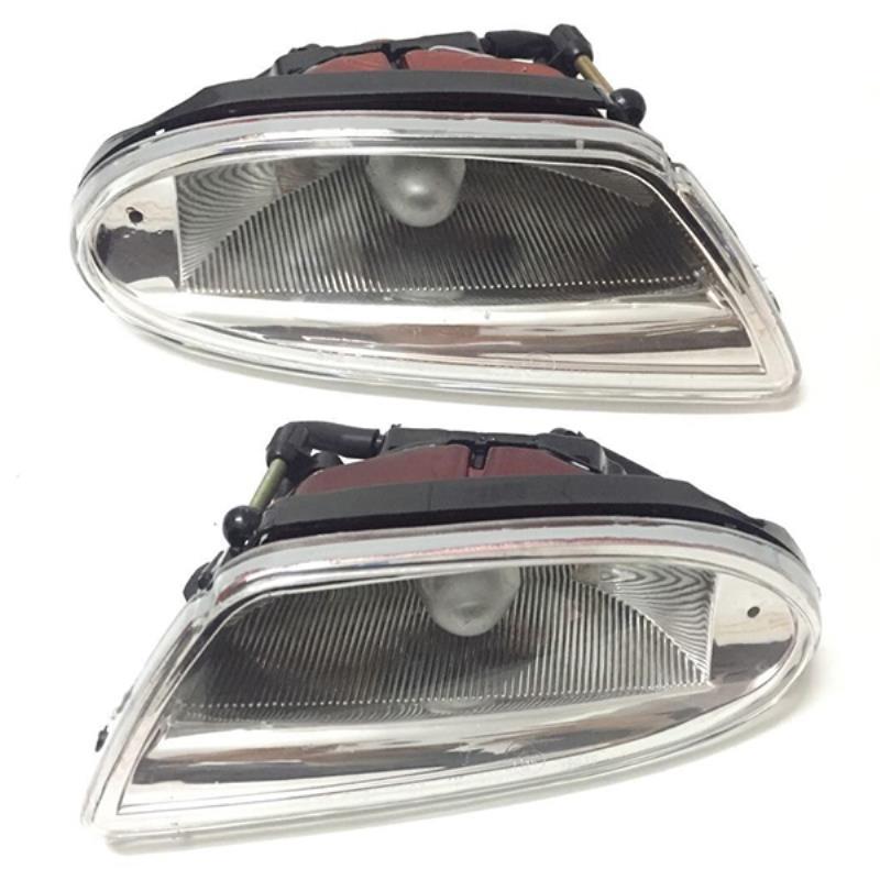 New Left Right 1Pair Fog Light font b Lamp b font Assembly for Mercedes Benz W163