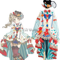 Love Live School Idol Project Minami Kotori Circus Fancy Dress Uniform Outfit Anime Cosplay Costumes