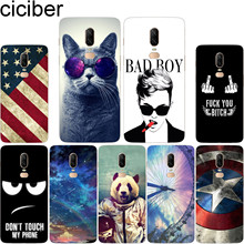 ciciber Ferris wheel Animal Panda Cat For Oneplus 6 6T 5 5T Soft Silicone Phone Cases Cover Clear TPU Fundas Capa For 1+ 6 1+5 T nylon 5t rear on road wheel set for 1 5 baja 5t ts h95167 wholesale and retail free shipping without inner foam