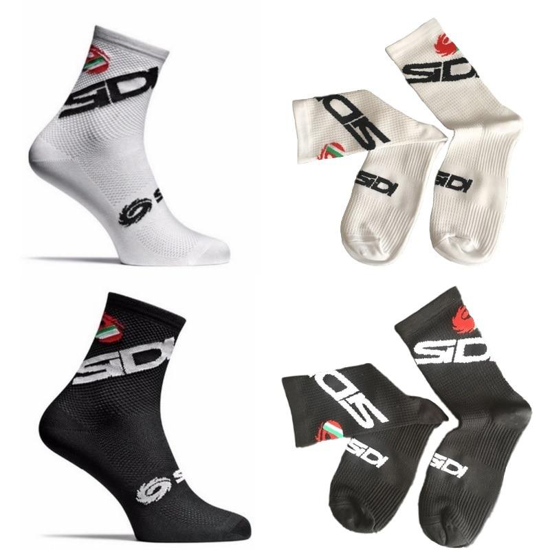 New Cycling Socks Men Women Sports Outdoor Black White Breathable Road Bikes Socks Running Outdoor Socks