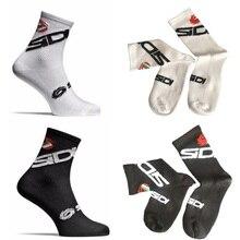 New Cycling Socks Men Women Sports Outdoor Black White Breat