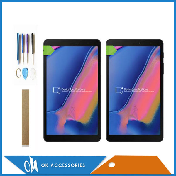 Pour Samsung Galaxy Tab A 8.0 avec S stylo Galaxy A Tab Plus (2019) SM-P205 P205 écran LCD avec écran tactile numériseur + outils ruban