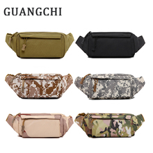 Tactics Camo Men Canvas Waist Pack Organizer Bags Chest Pack Waist Bags Hip Bum Belt  Portable Messenger Shoulder Pouch Purse