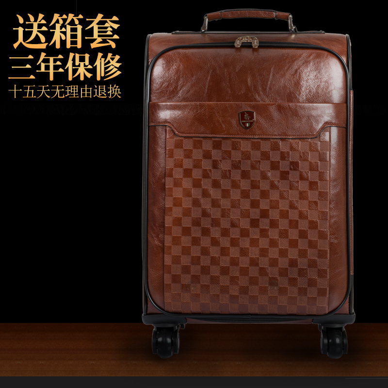 luggage trolley bag Picture - More Detailed Picture about Vintage ...