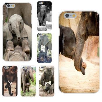 Hermoso elefante amigos Animal para LG G2 G3 G4 G5 G6 G7 K4 K7 K8 K10 K12 K40 Mini Plus ThinQ 2016 de 2017 a 2018