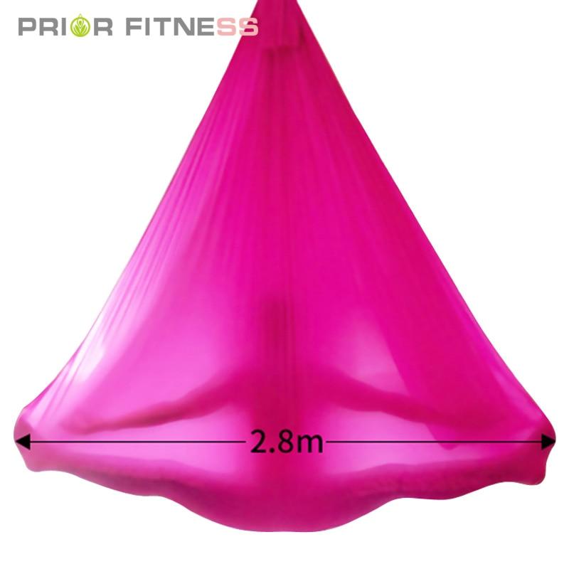 2020 Hot High Styrke Aerial Yoga Hammock 5meters High Quality 23 - Fitness og kroppsbygging - Bilde 3