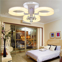 2 3 Heads Acryl Led Ceiling Lamp Modern Fashion Surface Mounted Led Lamp For Living Room