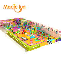 MAGICFUN inflatable playground scivoli per bambini commercial bounce house playground para