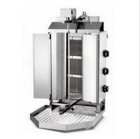 Коммерческих вращения сжиженного газа СПГ Донер кебаб машина 4 конфорки газ гироскопов шаурма машина вертикальный гриль Бройлер с двери