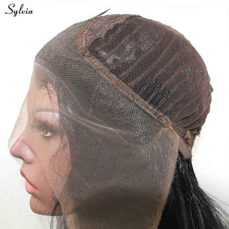 Sylvia Natural 1B Μαύρο 2x Περιστρεφόμενη - Συνθετικά μαλλιά - Φωτογραφία 5