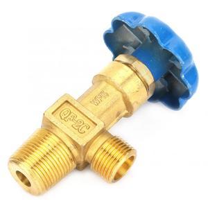 Image 4 - Válvula de ajuste de Gas de argón/oxígeno de baja presión de 2 tipos, válvula de seguridad reguladora de cilindro de argón de rosca BSP