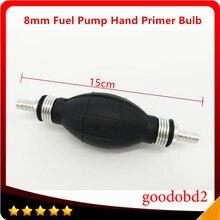 8mm bomba de combustível diesel mão primer bulbo todos os fuelsblength para carros navio barco bomba de combustível marinha primer bulbo mão primer bomba