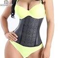 Miss Moly Latex Rubber Waist Trainer Slimming Corset Women Plus Size Shapewear Underbust Tummy Cincher Body Shaper Modeling Belt