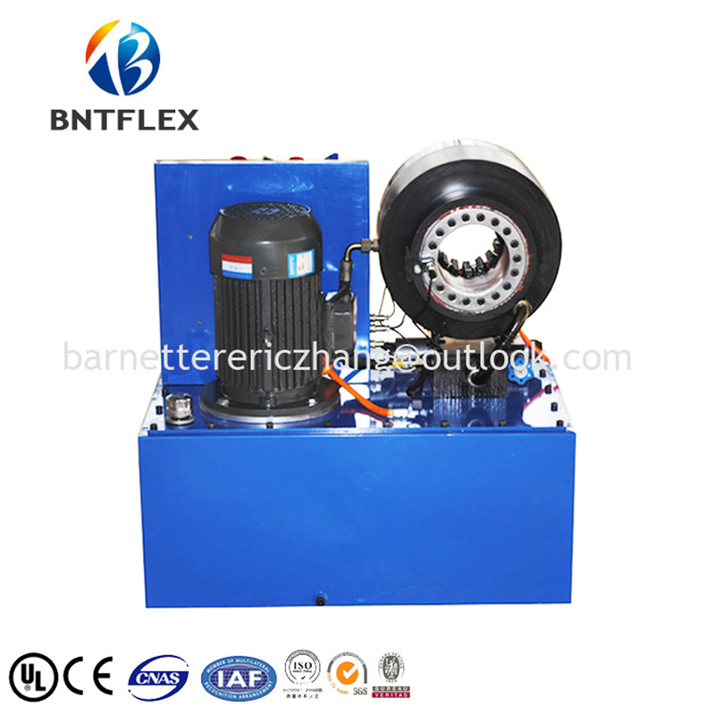 Manufacture 2017 wheel loader hose pipe crimping machine