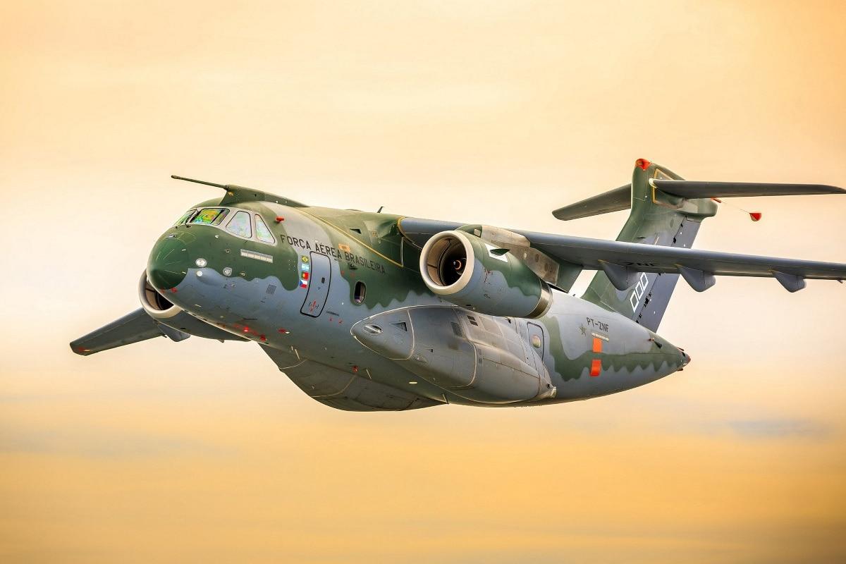 Seg Embraer KC 390 Aircraft transport Brazil Embraer EMB JZK425 ...