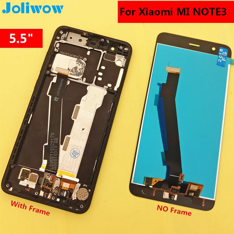 5,5 для Xiaomi Mi Note 3 ЖК-дисплей + сенсорный экран Замена аксессуары для телефона Xiaomi Mi Note 3 Mi Note3 ЖК-экран