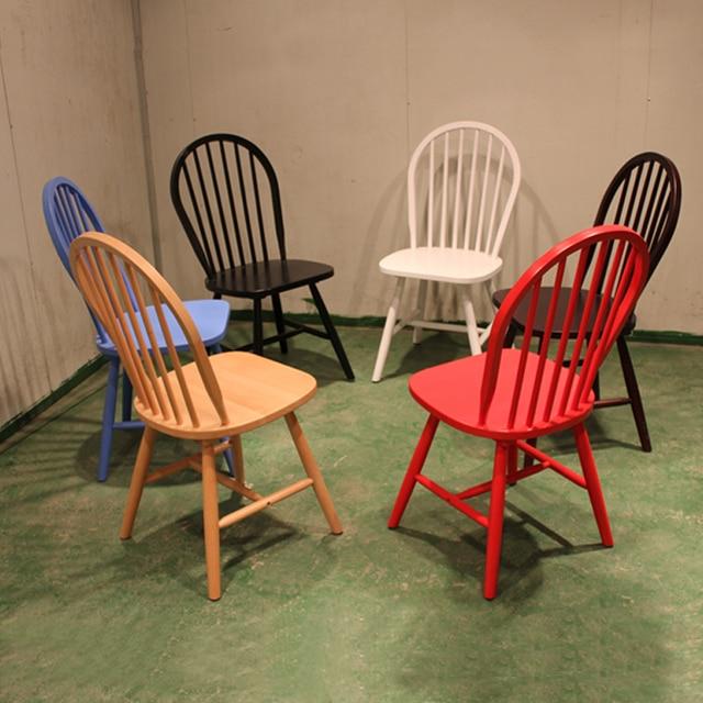 windsor stoelen massief hout eetkamerstoelen minimalistische ...