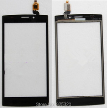 free shipping, Black Touch Screen for Philips S337 CTS337 Cellphone touch glass for Xenium mobile Smart phone