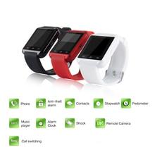 2016 Del Deporte Del Bluetooth Reloj Inteligente MTK Reloj U8 Salud para Samsung S3 S4 S6 edge Nota 3 4 5 para HTC LG G2 G3 G4 Android teléfono
