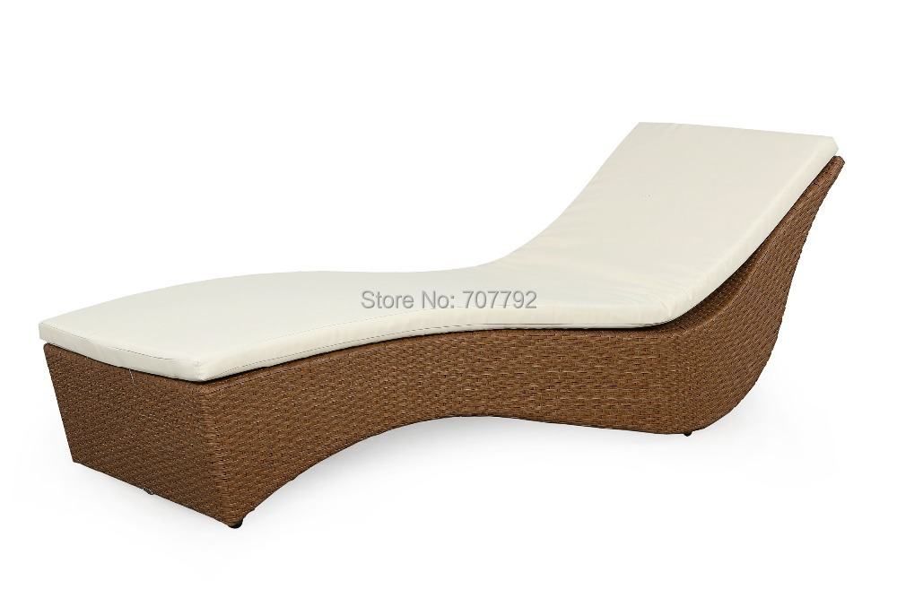 Natural Look Rattan Wicker Outdoor Chaise Lounge Daybed Chaise Lounge Daybed Wicker Outdoor Chaise Loungelounge Daybed Aliexpress
