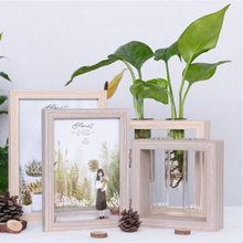 Nordic Family Stereo Folding Photo Frame Table 4/ 5/ 6/ 7 Inch Fresh Ins Picture Frame Conjoined Combination Frame Desktop Decor(China)