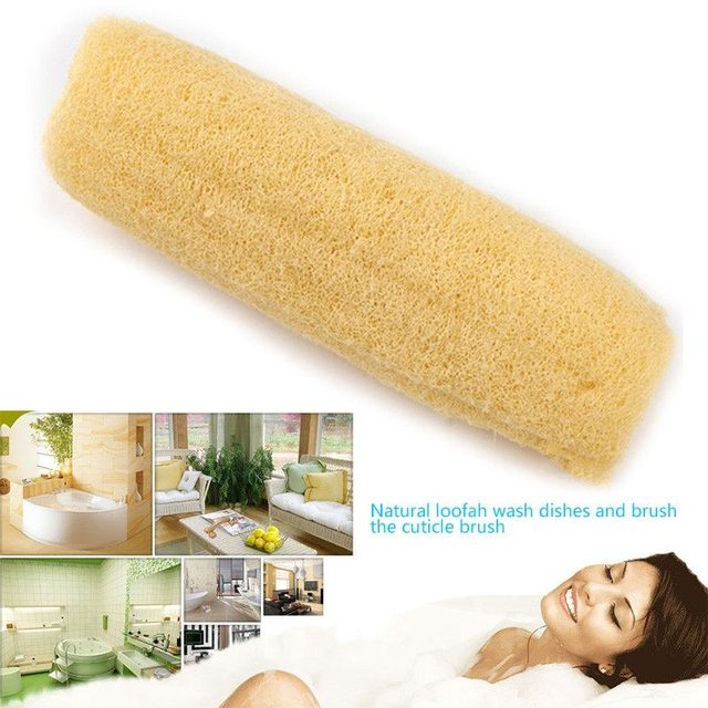 Horniness Remover Bathroom Accessories Natural Loofah Bath Shower ...
