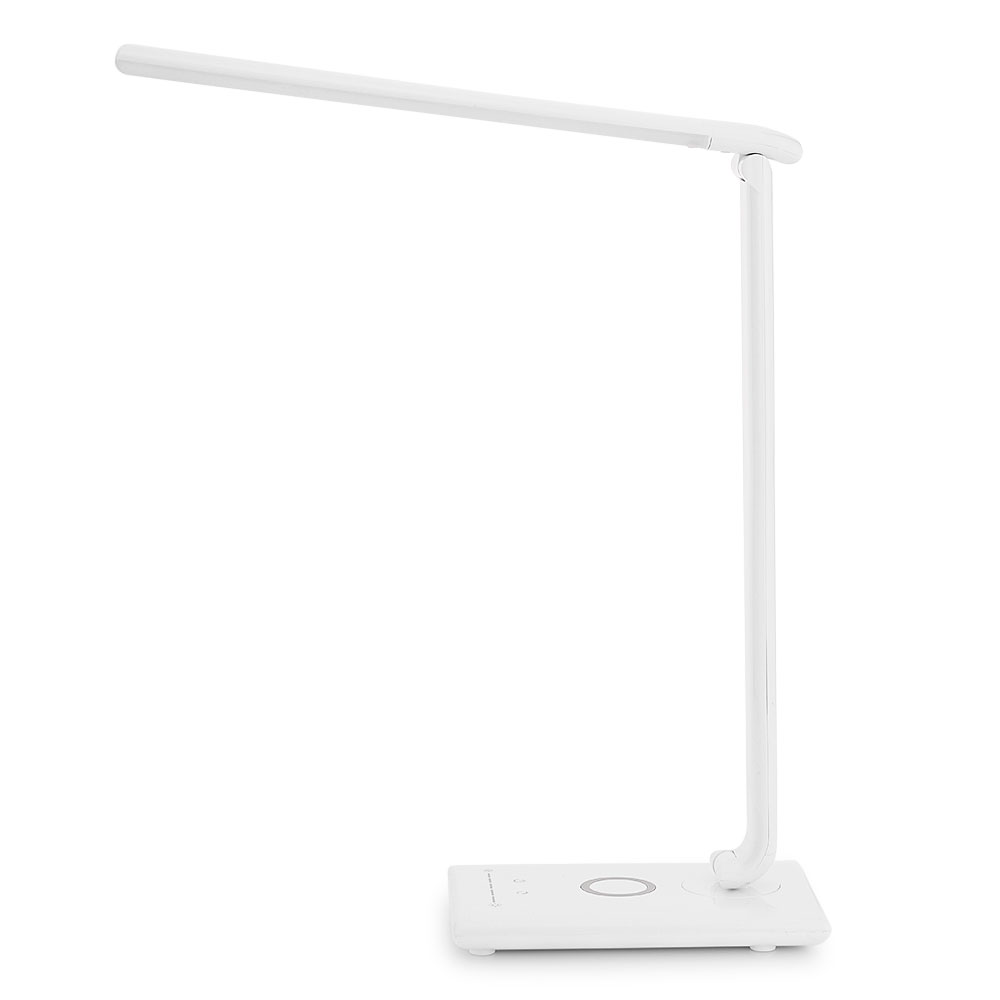 LightMe Adjustable Brightness LED Desk Lamp 360 degree Flexible Touch Control LED Read Lamp with USB Port Safe Eyes for Studying