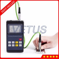 Leeb221 Portable Digital Eddy current Coating Thickness Gauge with can storge 500 group measurement value