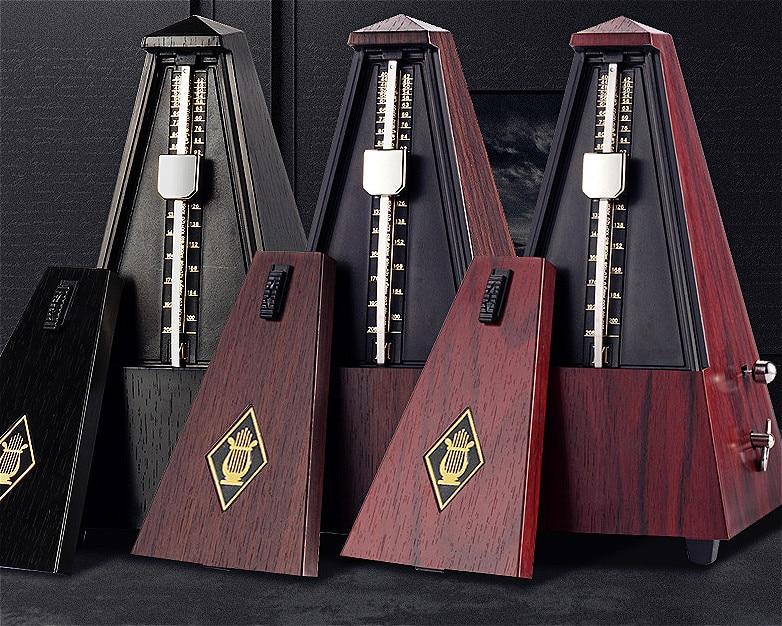 Haute Précision Vintage Style Professionnel Mécanique Métronome piano guitare violon instrument Rythmique montage GP20