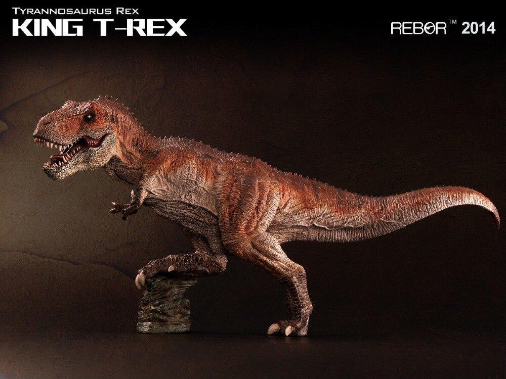 REBOR Tyrannosaurus Rex KING T REX PAINTED PVC 1 35 Dinosaur Museum Class Model