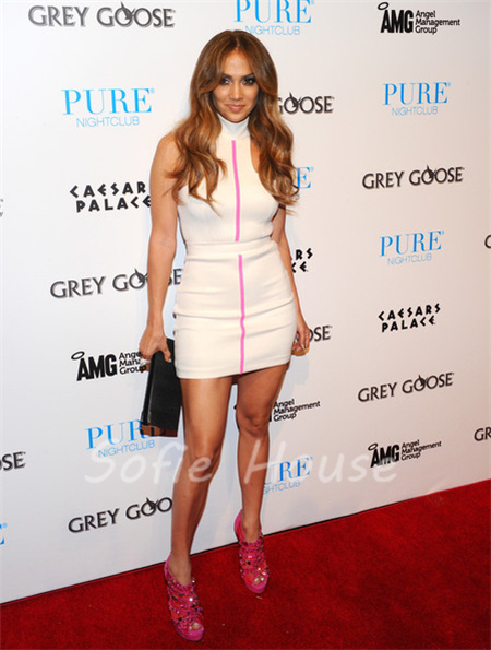 dress short Jennifer lopez
