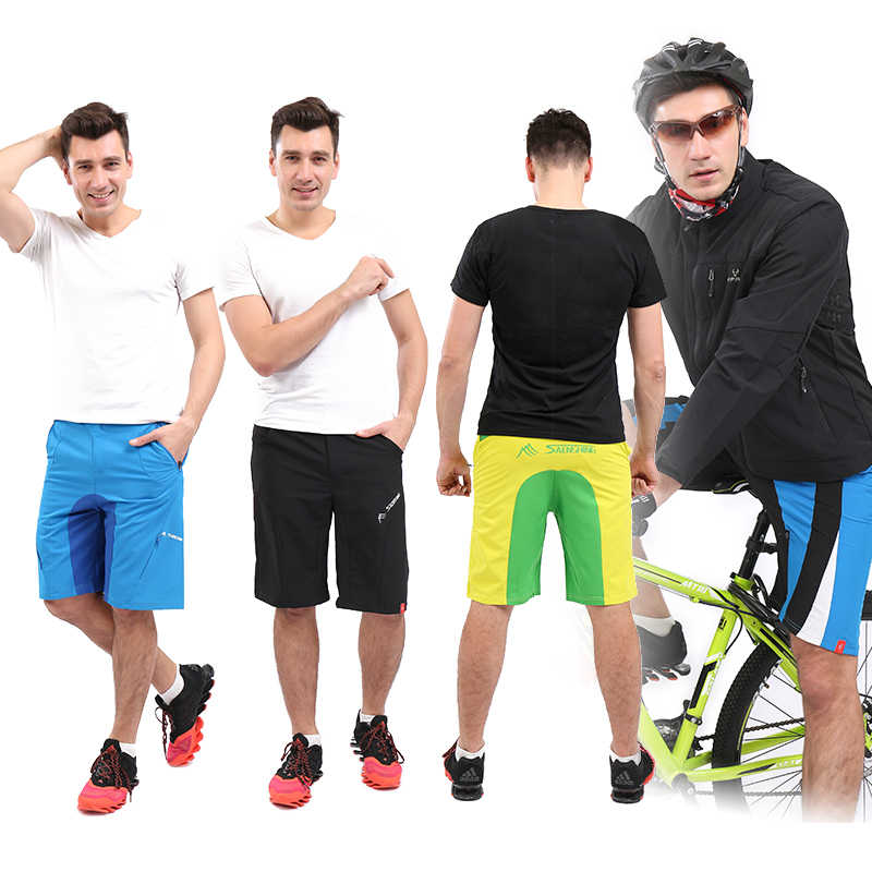 SAENSHING Mtb Downhill oddychające szorty męskie spodenki rowerowe męskie sportowe Mountain Bike krótkie bermudy Ciclismo Plus rozmiar