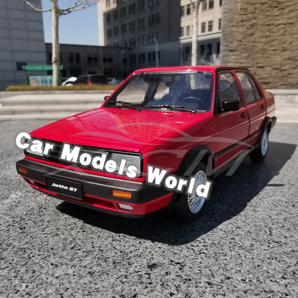 Diecast Car Model for Old Jetta Red SMALL GIFT