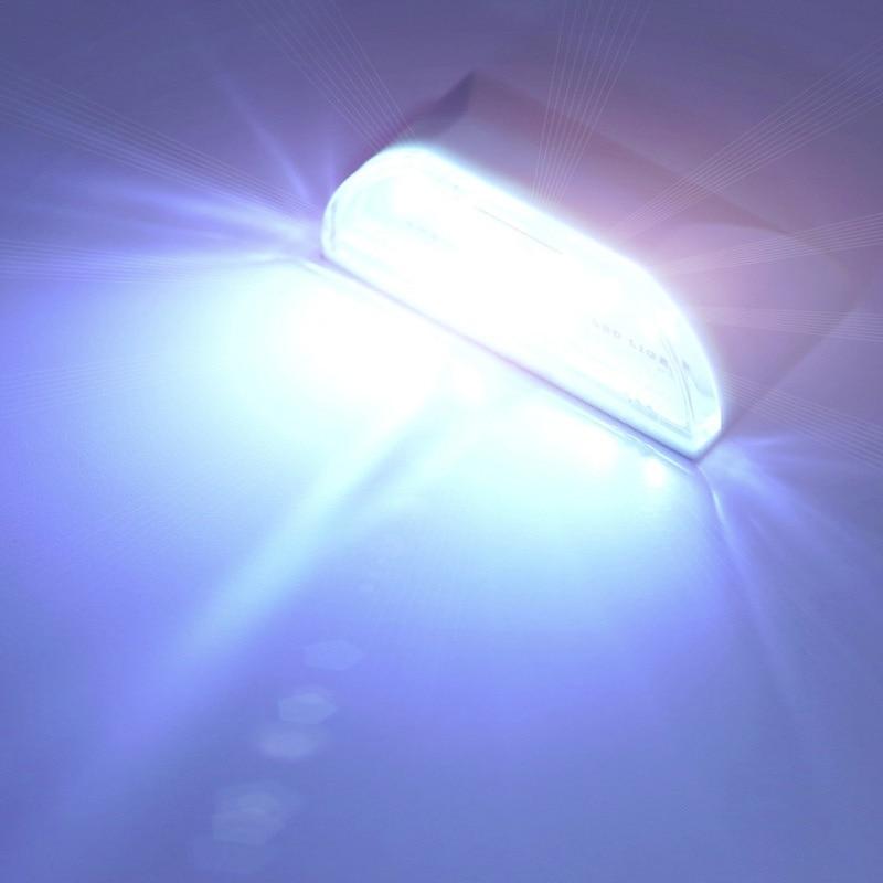 4 LED PIR Infrared Detection Motion Sensor Home Door Keyhole Light Lamps Night Light