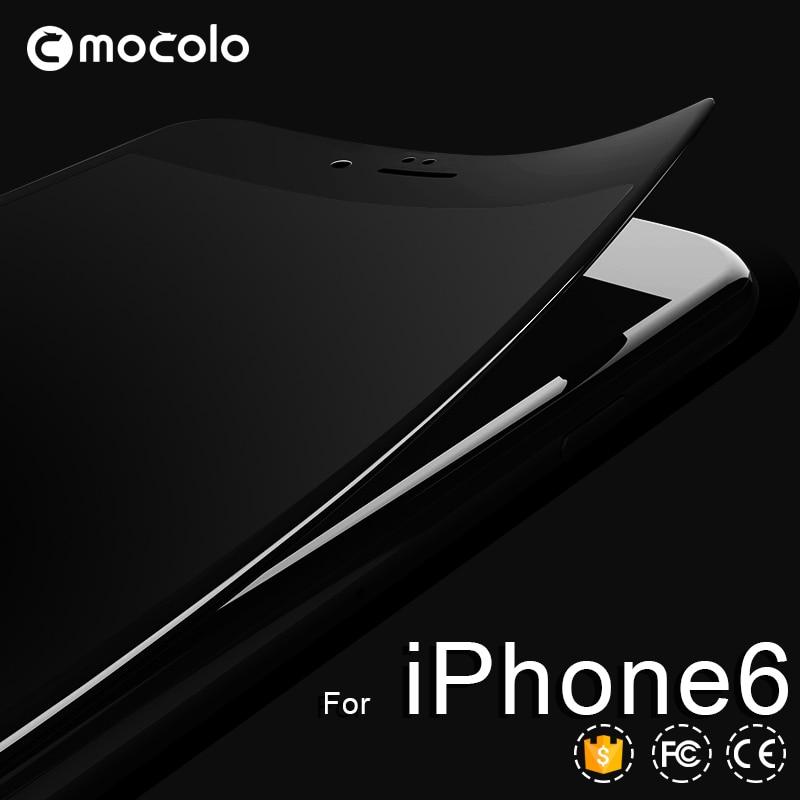 İPhone 7 üçün MOCOLO 9H 0.26mm 2.5D əyri kənarlı örtülmüş - Cib telefonu aksesuarları və hissələri - Fotoqrafiya 3