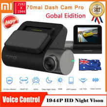 70mai Brand Dash Cam Pro 1944P Smart Car DVR Camera 140° Driving Recorder AU only GPS module(China)
