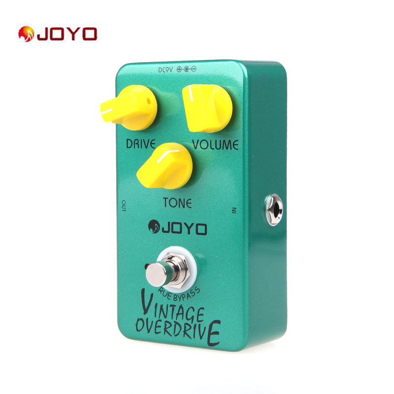 Joyo JF 01 Vintage Overdrive Guitar Effect Pedal Overdrive Guitar Pedal Effect True Bypass Guitar Parts