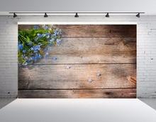 SHENGYONGBAO Vinyl Custom Digital Printed Backdrops for Photography  Wood theme Photo Studio Background 19905 цены