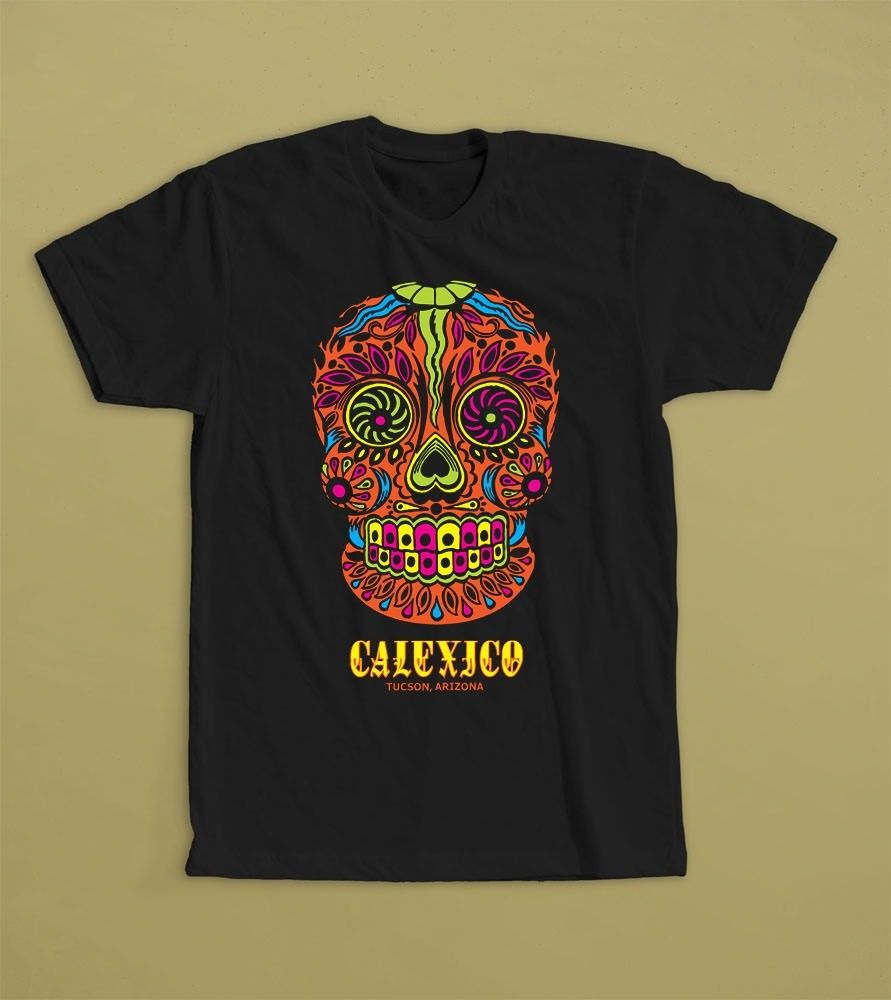 Calexico Tucson ArizonaAmericana Tex-Mex, Indie Rock BandT-shirt S-3XL Print Casual T-Shirt Men Brand Top Tee