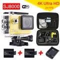 Водонепроницаемая камера Оригинал Wi-Fi Камера Action Sports 4 К 24fps 30 М Водонепроницаемый DVR ЖК-Дайвинг Шлем Cam камкордер Автомобиля